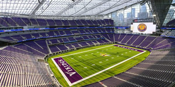 New stadium: It's enclosed, but open-air