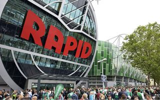 New stadium: Rapid settling in