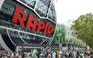 New stadium: Rapid settling in