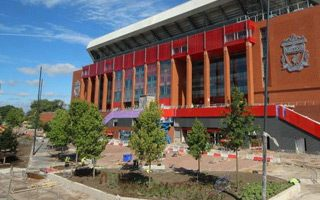 Liverpool: Black Forest trees to decorate Anfield