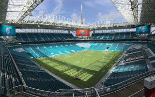 Miami: Dolphins Stadium just days from opening