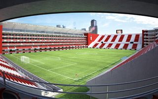New design and construction: Estudiantes complete their dream
