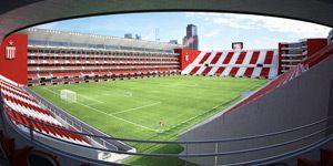 New design and construction: Estudiantes complete their dream
