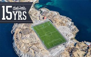 New stadium: The paradise island of Norway