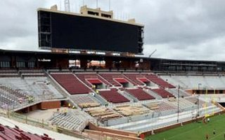 Oklahoma: Sooners' giant screen revealed