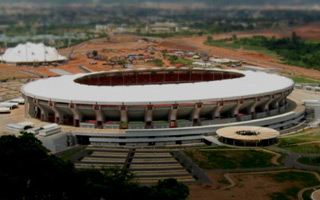 Nigeria: Cows grazing at national stadium
