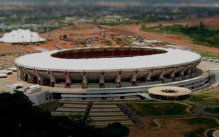 Nigeria: Cows grazing at national stadium