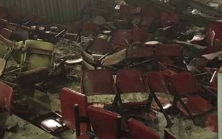 London: Explosions damage Upton Park