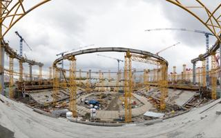 Russia 2018: 9 months of progress in Yekaterinburg