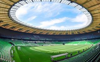 Russia: Krasnodar stadium with highest certification