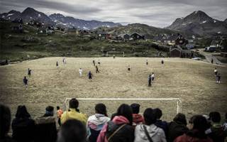 New stadiums: Football in the land of ice