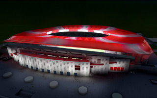 Madrid: Atletico's roof will come alive during events
