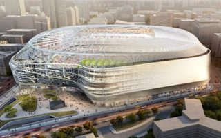 Madrid: Real present downsized Bernabéu revamp
