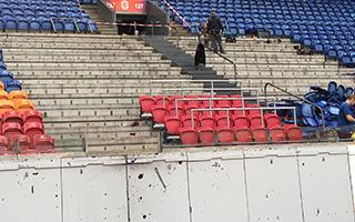 Amsterdam: Ajax finally installing safe standing