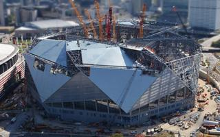 Atlanta: Fixed roof ready at Mercedes-Benz Stadium