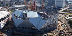 Atlanta: Fixed roof ready at Mercedes-Benz Stadium