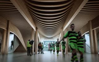 England: Zaha Hadid to build brilliant wooden stadium
