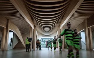 England: Zaha Hadid to build brilliant wooden stadium
