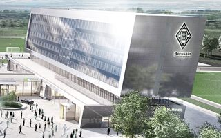Mönchengladbach: Borussia's hotel construction launched