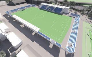 New stadium and design: Past and future of Pardubice