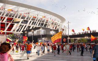 Rome: Turbulent week for Roma's stadium