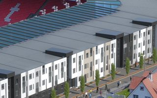 Norway: Student housing at Brann stadium in 2019