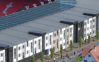 Norway: Student housing at Brann stadium in 2019