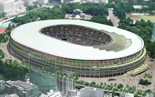 Tokyo: Olympic Stadium groundbreaking on Dec 11