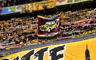 Munich: Dynamo Dresden took Allianz Arena