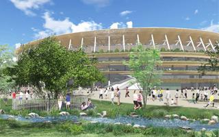 Tokyo: Olympic Stadium formally underway