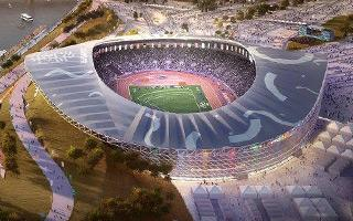 New design: Budapest presents the 2024 Olympic Stadium