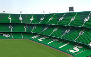 Seville: Betis displays new stadium image