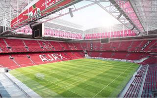 Amsterdam: ArenA finally in Ajax's colours