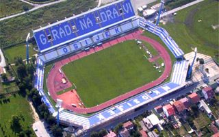 Croatia: National stadium in… Osijek?