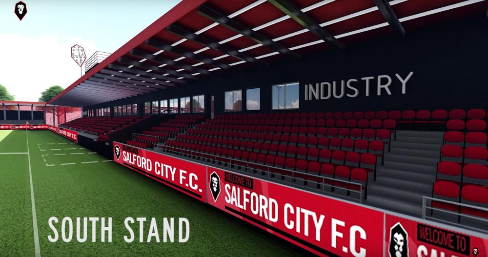 Salford City's Moor Lane