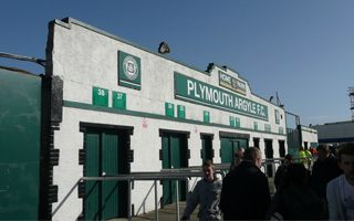 England: Plymouth to finally erect the missing main stand?