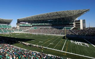 New stadium: The new Mosaic Stadium