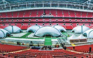 Poker tour of stadiums