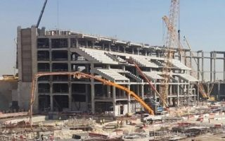 Qatar 2022: First modular seating section underway