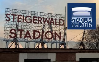 Stadium of the Year 2016: Reason 24, Steigerwaldstadion
