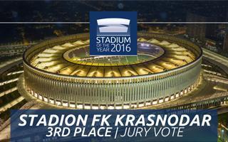 Stadium of the Year 2016: Jury Vote 3rd place – Stadion FK Krasnodar