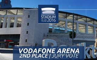 Stadium of the Year 2016: Jury Vote 2nd Place – Vodafone Arena