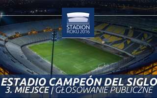 Stadium of the Year 2016: Public Vote 3rd Place - Estadio Campeón del Siglo