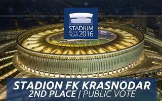 Stadium of the Year 2016: Public Vote 2nd Place – Stadion FK Krasnodar