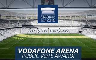 Stadium of the Year 2016: Public Vote Award – Vodafone Arena!
