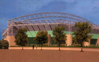 New design: The Newcastle stadium that never was