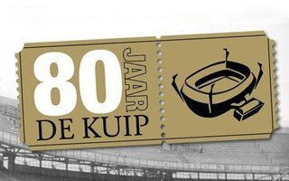 Rotterdam: 80th birthday of De Kuip