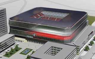 Warsaw: Is this the new Polonia stadium?