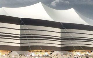 Qatar 2022: Contractor selected for tent-like membrane