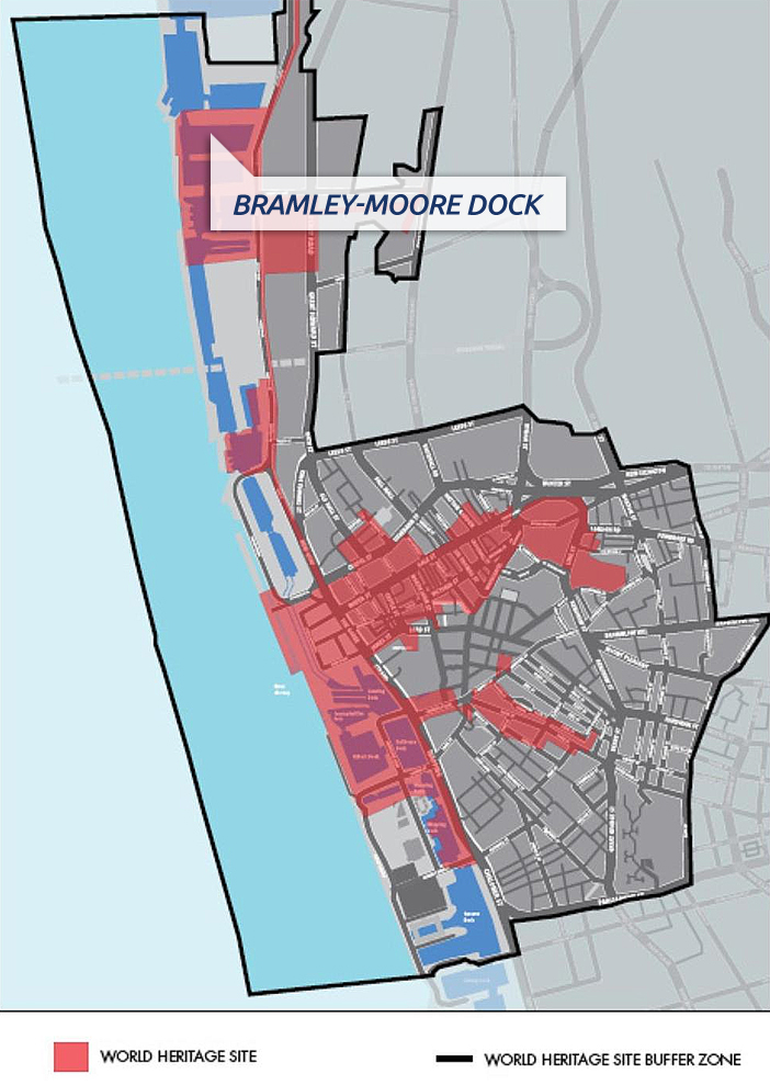 Everton Bramley-Moore Dock stadium site